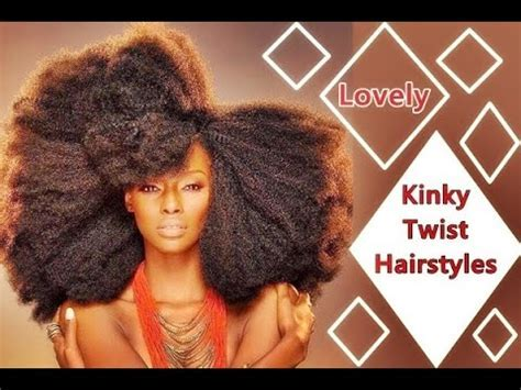 African Kinky Twist Hairstyles with Long, Short, Medium
