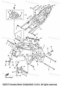 Yamaha Motorcycle 2009 Oem Parts Diagram For Frame