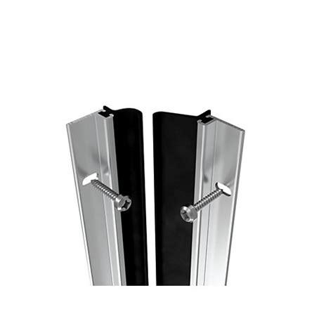 wickes full door metal draught excluder aluminium mm