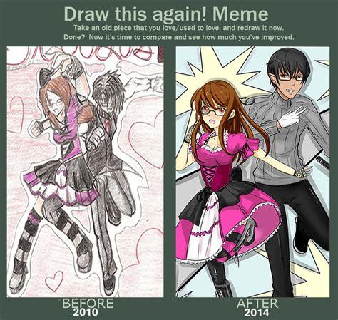 Lust Meme - draw this again meme blood lust by adrianaloleng on deviantart