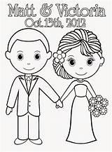 Coloring Printable Sheets Sheet Activity Weddings Colouring Adult Couple Bridal Cake Barbie Bride Pdf Reception Cinderella 2009 Anniversary Groom Ways sketch template