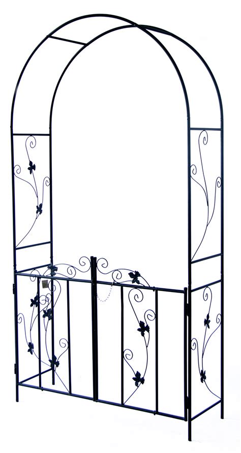 Value Garden Arch by Woodside Garden Arch With Gate Woodside Outdoor Value