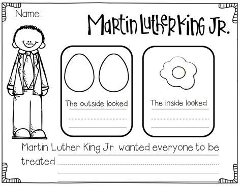 mlk timeline for kindergarten