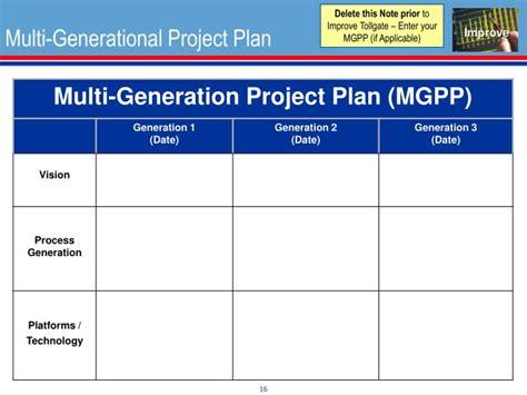 Multi Generational Project Plan Template multi generational project plan template home design