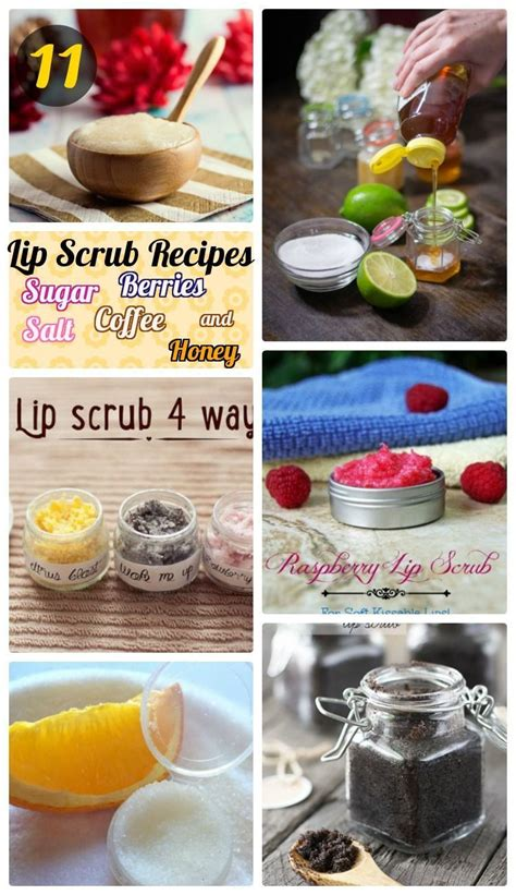 There are some commercial products on the market. 11 DIY Homemade Lip Scrub Recipes for Soft & Glowing Lips - how to make lush lip scrubs with ...