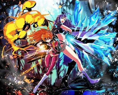 Lina Inverse Anime Slayers Naga Slayer Battle