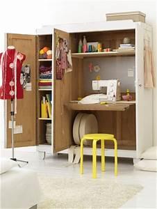 Créer Son Bureau Ikea : cr er un bureau atelier dans un petit espace id e ~ Melissatoandfro.com Idées de Décoration