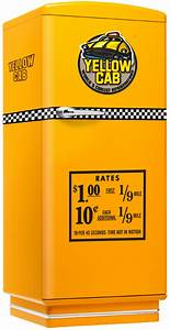 Amerikanischer Kühlschrank Retro Design : amerikanischer retro k hlschrank der 50er jahre in gelb mit yellow cab ~ Sanjose-hotels-ca.com Haus und Dekorationen