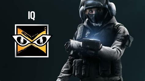 Iq Rainbow 6 Siege Special Ability Youtube