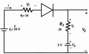 diode circuit analysis losses With circuit analysis 2