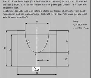 Schwerpunkt Berechnen Physik : mechanik berechnung der drehzahl einer zentrifuge mathelounge ~ Themetempest.com Abrechnung