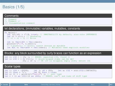 rust programming language overview