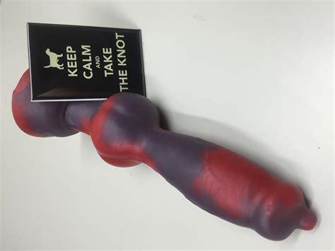 Dog cock dildo 2 - knot - toy - PornHugo.Com