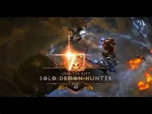 Demon Hunter Solo GR 49 - Diablo III Season 2 - YouTube