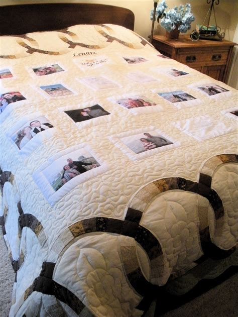wedding ring photo quilt photo quilts