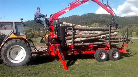siege de tracteur remorque et grue forestière agriduarte avec siège sur