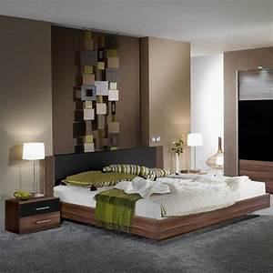 Wandgestaltung farbe schlafzimmer for Farbe im schlafzimmer