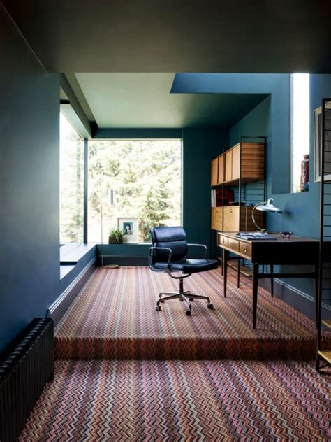 inspirational mid century modern home office designs