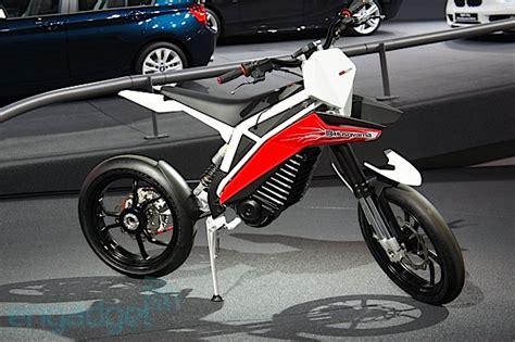 Husqvarna/bmw Electric Concept Motorcycle.