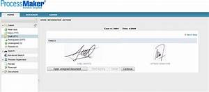 adding an electronic signature to web forms processmaker With signatures on electronic documents