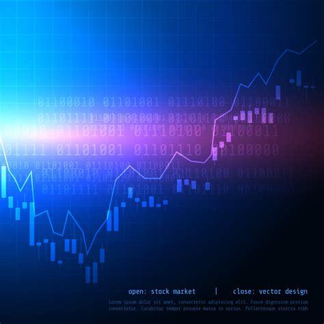 candle stick stock market trading chart with bullish high ...