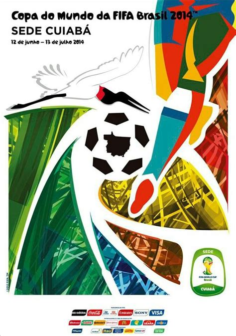 FIFA World Cup 2014 Cuiabá Poster   Fifa 2014 world cup, World cup, World cup 2014