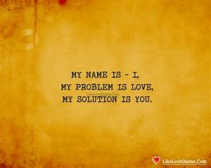 Is It Love Solution : i love you name problem solution ~ Melissatoandfro.com Idées de Décoration