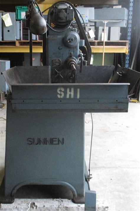 sunnen model man  precision honing machine sn  daves industrial surplus llc