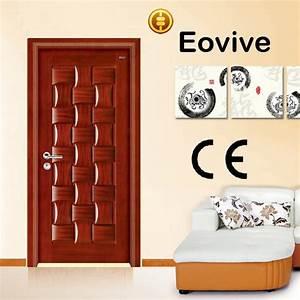 Placage Bois Pour Porte : moderne en bois con oit porte de placage en bois massif ~ Dailycaller-alerts.com Idées de Décoration