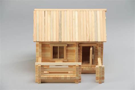madeheart gt jeu de construction en bois fait maison 208 pi 232 ces pratique et original