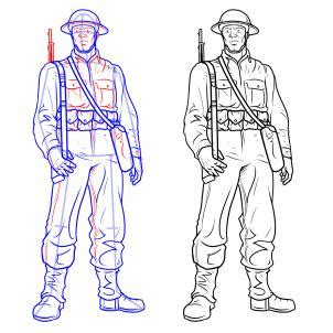 christmas soldier steps to drawyard sign soldier simple pencil and in color soldier simple