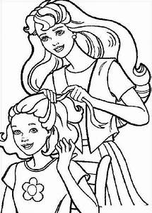 Barbie Coloring Pages | Learn To Coloring