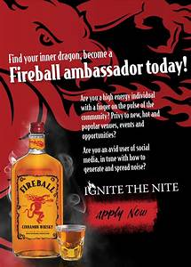 Fireball are on the hunt for the perfect Ambassador ...