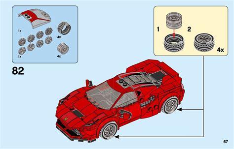 Lego ferrari fxx k & development centrum 75882 instructions. LEGO 76895 Ferrari F8 Tributo Instructions, Speed Champions