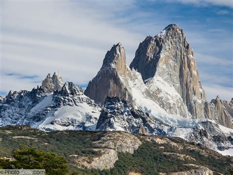 Mount Fitz Roy Andes Mountains Argentina Patagonia