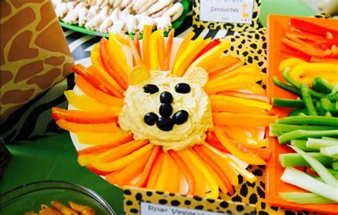 jungle theme  birthday food ideas inspiration animals