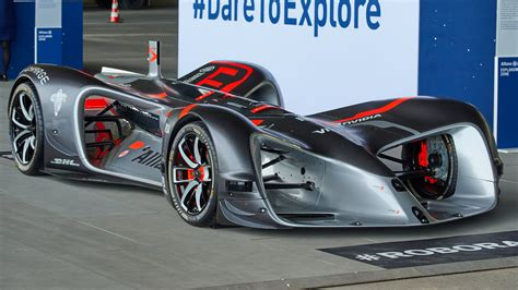 Racing Car by Roborace Will Attempt A Self Driving Goodwood Hillclimb