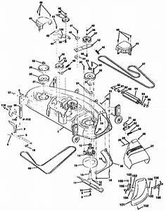 30 Diagram For Craftsman Lawn Mower Deck