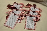 Candy Cane Poem Printable Tag : Legend of the Candy Cane ...
