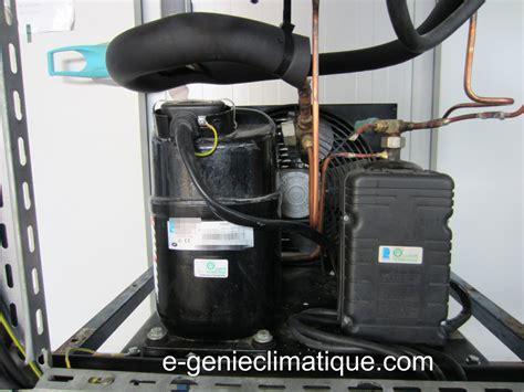 compresseur chambre froide froid01 le circuit frigorifique de base dans une chambre