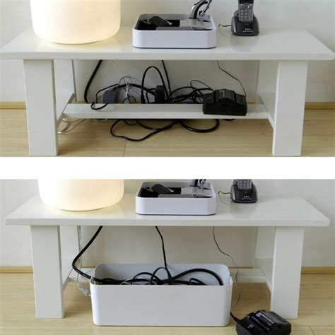 desk cable management ideas under desk cable management organizer cablebox by blue lounge