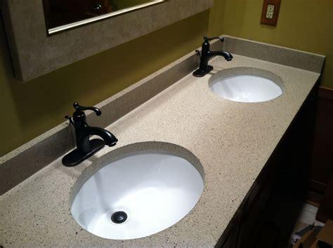 Best Undermount Bathroom Sinks For Granite Countertops Bathroom Vanities With Tops Choosing The Right Countertop