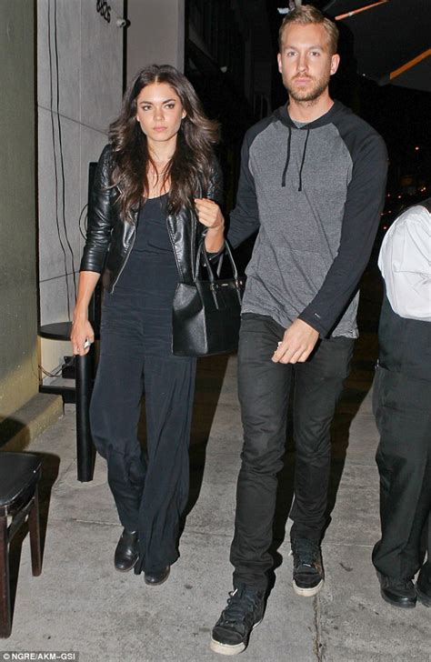 calvin harris and aarika wolf a on jet daily mail