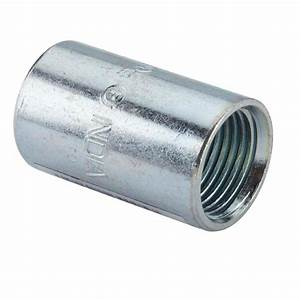 Halex 1/2 in Rigid Coupling (100-Pack)-64001B - The Home