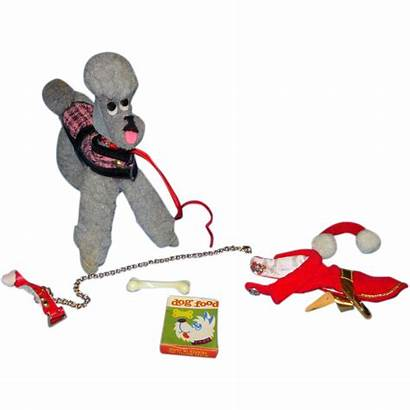 Dog Barbie Poodle Mattel Rubylane Afkomstig