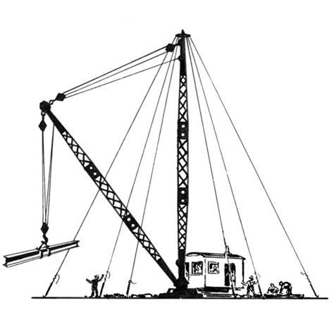 Kleurplaat Binnenvaartschip by Types Of Shipboard Cranes