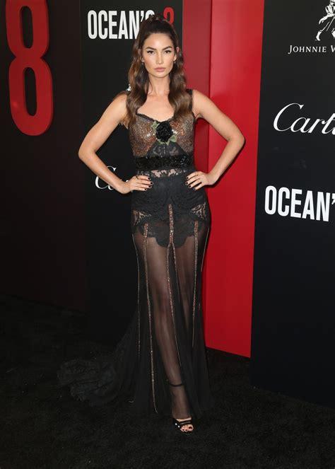 Lily Aldridge Ocean Premiere New York