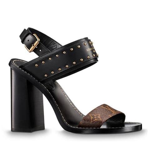 louis vuitton nomad sandals monogram studs   ioffer designer replica louis