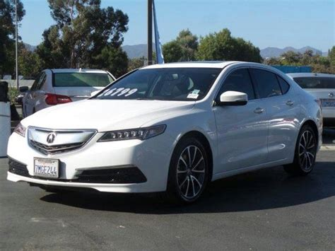 white acura tlx in california for sale used cars on
