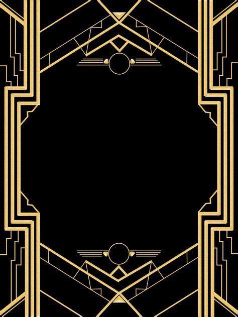 great gatsby invitation templates blank   great